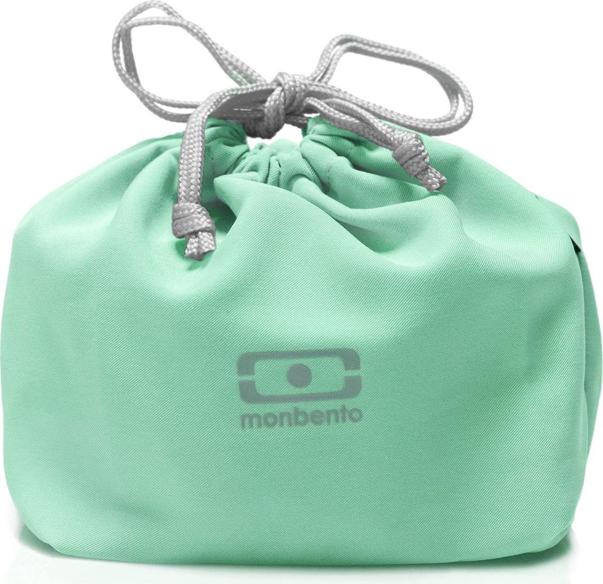 Мешочек для ланча Monbento Pochette, цвет: мятный1002 02 255Идеальное дополнение к каждому ланч-боксу! Стильный мешочек для ланча поможет вам комфортно и надежно транспортировать ланч-бокс, положив его в сумку или даже неся в руке. Сложите в мешочек все, что вам понадобится для обеда: ланч-бокс, приборы, салфетки и другие нужные вещи. Все это будет в целости и сохранности, а вы сможете комфортно пообедать в любом месте.Вместительный мешочек защитит ланч-бокс и другие предметы от механических повреждений и позволит компактно транспортировать все обеденные принадлежности. Вам не нужно будет тратить время на поиски того или иного предмета – все будет под рукой!Практичный и легкий в уходе полиэстер очень просто стирать, для него разрешена машинная стирка.