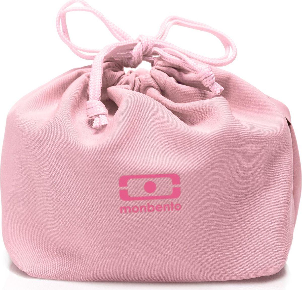 Мешочек для ланча Monbento Pochette, цвет: личи1002 02 266Идеальное дополнение к каждому ланч-боксу! Стильный мешочек для ланча поможет вам комфортно и надежно транспортировать ланч-бокс, положив его в сумку или даже неся в руке. Сложите в мешочек все, что вам понадобится для обеда: ланч-бокс, приборы, салфетки и другие нужные вещи. Все это будет в целости и сохранности, а вы сможете комфортно пообедать в любом месте.Вместительный мешочек защитит ланч-бокс и другие предметы от механических повреждений и позволит компактно транспортировать все обеденные принадлежности. Вам не нужно будет тратить время на поиски того или иного предмета – все будет под рукой!Практичный и легкий в уходе полиэстер очень просто стирать, для него разрешена машинная стирка.