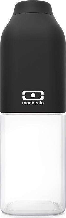 Бутылка Monbento Positive, цвет: черный, прозрачный, 0,5 л1011 01 002Многоразовая бутылка Monbento Positive станет идеальным компаньоном в спортзале, поездках и ежедневных приключениях! Благодаря своей квадратной форме бутылочка легко помещается в любую сумку и позволяет экономить пространство. Бутылка выдерживает температуры от -30° до 120°C, что позволяет наливать в нее холодный лимонад или воду, свежевыжатый сок, чай, кофе, а также любые газированные напитки. Крышечка бутылки плотно фиксируется и обеспечивает полную герметичность. Изделие выполнено из пищевого пластика Тритан, который безопасен для жизни человека и не выделяет химические вещества даже при экстремальных температурах (вот почему его часто используют для изготовления детских бутылочек). Он очень легкий, не пачкается и не имеет запаха. Бутылочку легко мыть как в раковине, так и в посудомоечной машине. Специальное покрытие soft touch protect, приятное и гладкое на ощупь. Покрытие обладает высоким уровнем ударостойкости: не протирается и не царапается. Благодаря этому бутылочка сохранит свой прекрасный внешний вид и прослужит вам очень долго.