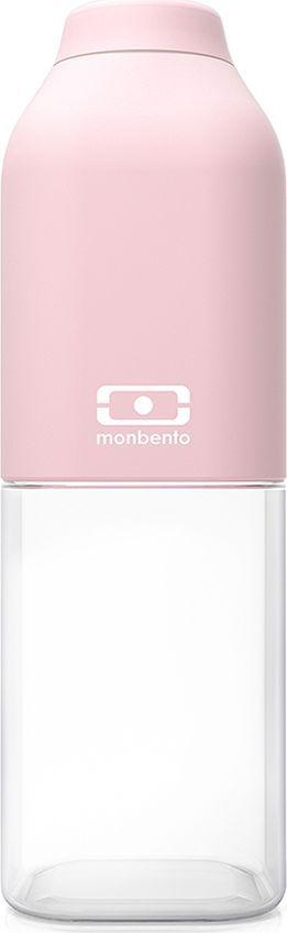 Бутылка для воды Monbento Positive, цвет: личи, 500 мл1011 01 066Многоразовая бутылка Monbento Positive вместимостью 500 мл пригодится в спортзале, на прогулке, дома, на даче. Благодаря своей квадратной форме бутылочка легко помещается в любую сумку и позволяет экономить пространство. Бутылка выдерживает температуры от -30° до 120°C, что позволяет наливать в нее холодный лимонад или воду, свежевыжатый сок, чай, кофе, а также любые газированные напитки. Крышка бутылки плотно фиксируется и обеспечивает полную герметичность. Покрытие корпуса обладает высоким уровнем ударостойкости: не протирается и не царапается. Благодаря этому бутылочка сохранит свой прекрасный внешний вид и прослужит вам очень долго.Забудьте про одноразовые пластиковые емкости - они не красивые, да и засоряют окружающую среду. А такая красота в руках точно привлечет взгляды окружающих. Изготовлена из безопасного пищевого пластика (BPA free). Можно мыть в посудомоечной машине.