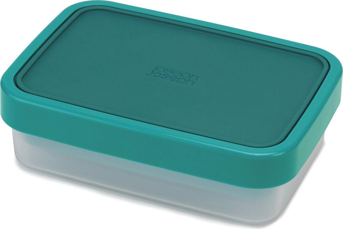 Ланч-бокс компактный Joseph Joseph GoEat, цвет: изумрудный81065Максимально практичный ланч-бокс состоит из вместительного основного контейнера для сэндвичей и вторых блюд, верхнего отделения для жидкой еды или снеков и силиконовой крышки с блокирующим кольцом, которое защищает контейнер от протекания и помогает сохранить свежесть продуктов. Когда контейнер пуст, верхняя часть компактно вкладывается в основную, благодаря чему ланч-бокс очень удобен для переноски.Верхняя ёмкость - 500 мл. Нижняя ёмкость - 700 млМожно мыть в посудомоечной машине. Контейнеры можно разогревать в микроволновой печи, предварительно удалив кольцо и крышку.