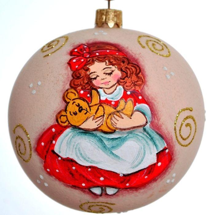 Украшение новогоднее подвесное Клавдиево Австрийский альбом девочка и мишка, ручная работа, диаметр 10 смH-100-0001-S-Австрийский альбом девочка и мишкаЕлочная игрушка - символ приближающегося праздника. Она послужит прекрасным подарком как для ребенка, так и для взрослого, а также дополнит новогодний интерьер. Шары будут отлично смотреться на праздничной елке.