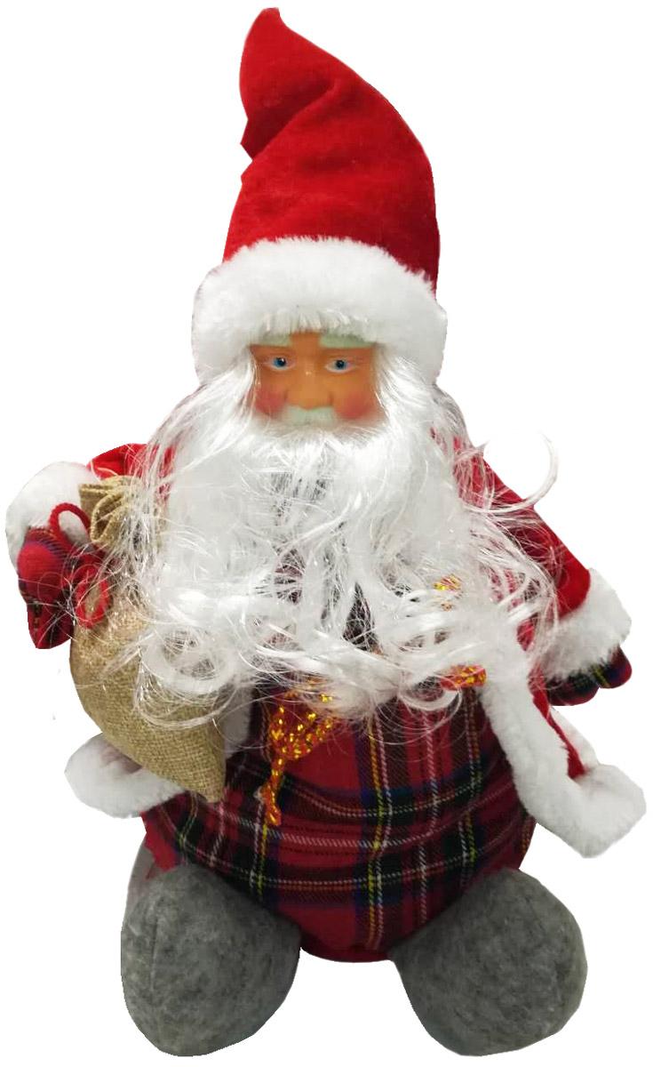Сладкий новогодний подарок мягкая игрушка Европейская коллекция Дед Мороз, 400 г сладкая сказка печенье дед мороз и снегурочка 400 г
