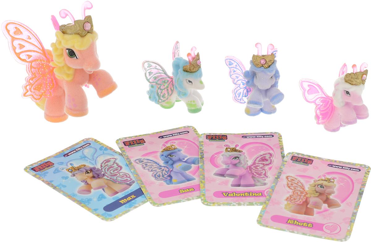 Filly Dracco Игровой набор Бабочки с блестками Волшебная семья Rhett игровые наборы dracco набор игровой filly русалочки танцевальная сцена