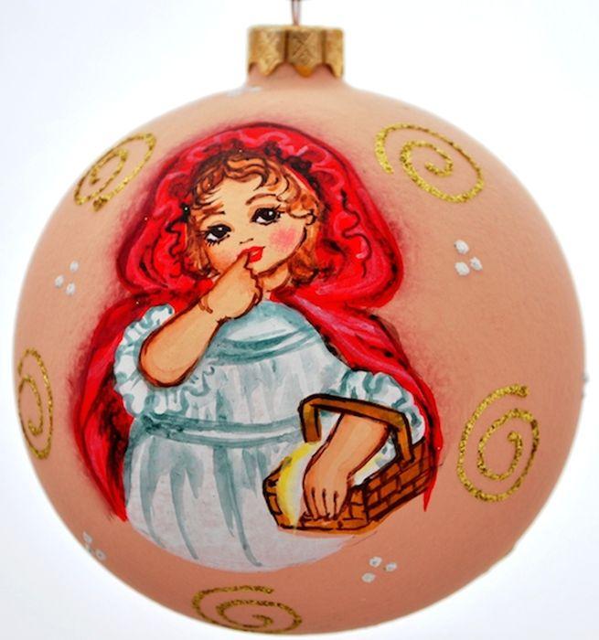 Украшение новогоднее подвесное Клавдиево Австрийский альбом девочка с корзинкой, ручная работа, диаметр 10 смH-100-0001-S-Австрийский альбом девочка с корзинкойЕлочная игрушка - символ приближающегося праздника. Она послужит прекрасным подарком как для ребенка, так и для взрослого, а также дополнит новогодний интерьер. Шары будут отлично смотреться на праздничной елке.
