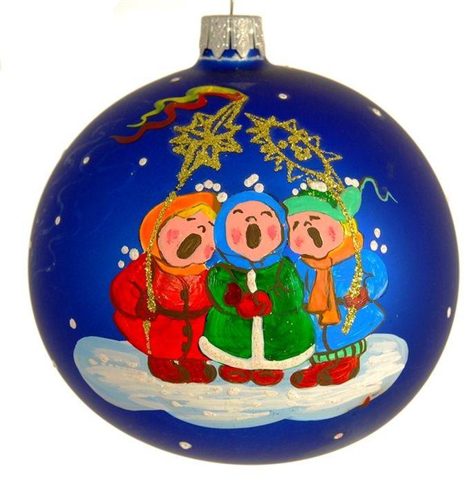 Украшение новогоднее подвесное Щедрый вечер, ручная работа, диаметр 10 смH-100-260331-S-Щедрый вечер