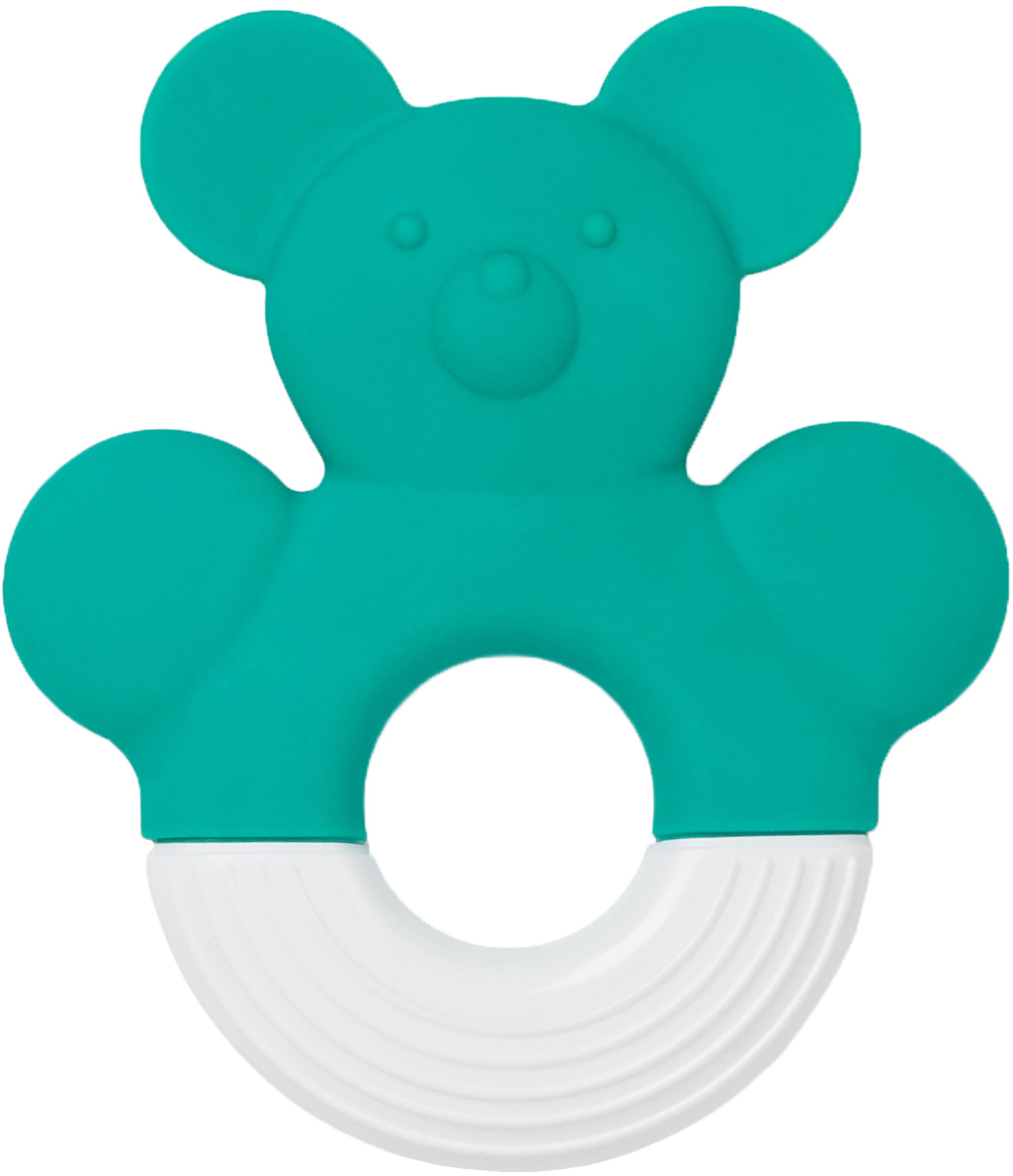 Bebe Due Прорезыватель для зубов цвет голубой поильники bebe due чашка непроливайка bebe due medic