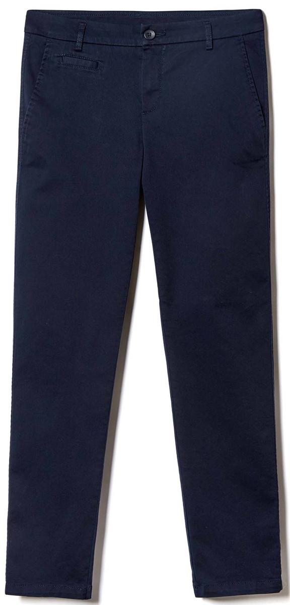 Брюки женские United Colors of Benetton, цвет: синий. 4BYW555K3_06U. Размер 38 (40)4BYW555K3_06UЖенские брюки United Colors of Benetton станут модным дополнением к вашему гардеробу. Изготовленные из качественного материала, они мягкие и приятные на ощупь, не сковывают движения и позволяют коже дышать.Современный дизайн и расцветка делают эти брюки стильным предметом одежды, они отлично дополнят ваш образ и подчеркнут неповторимый стиль.