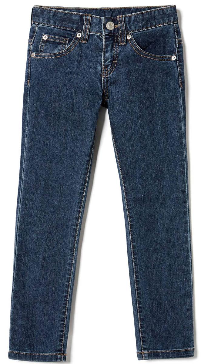 Джинсы для мальчика United Colors of Benetton, цвет: синий. 4CU9573E0_903. Размер 1504CU9573E0_903Стильные джинсы для мальчика идеально подойдут вашему ребенку для отдыха и прогулок. Изготовленные из качественного материала, они необычайно мягкие и приятные на ощупь, не сковывают движения и позволяют коже дышать, не раздражают даже самую нежную и чувствительную кожу ребенка, обеспечивая ему наибольший комфорт. Джинсы на талии застегиваются на металлическую пуговицу и имеют ширинку на застежке-молнии, имеются шлевки для ремня.