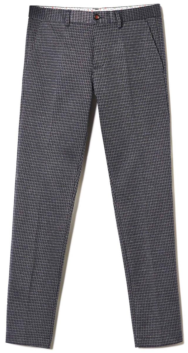 Брюки мужские United Colors of Benetton, цвет: серый. 4FG655BT8_901. Размер 484FG655BT8_901Стильные мужские брюки United Colors of Benetton выполнены из качественного материала. Брюки застегиваются на комбинированную застежку. Эти модные и в тоже время комфортные брюки послужат отличным дополнением к вашему гардеробу.