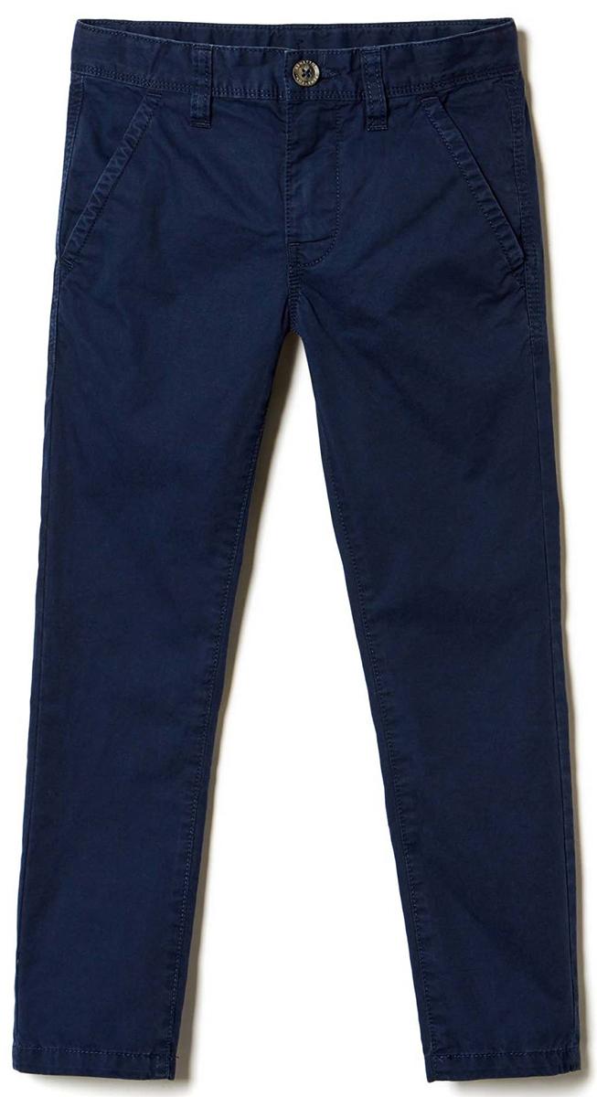 Брюки для мальчика United Colors of Benetton, цвет: синий. 4LT3555F0_13C. Размер 1304LT3555F0_13CСтильные брюки идеально подойдут вашему ребенку для отдыха и прогулок.Изготовленные из качественного материала, они необычайно мягкие иприятные на ощупь, не сковывают движения и позволяют коже дышать, нераздражают даже самую нежную и чувствительную кожу ребенка, обеспечиваяему наибольший комфорт.Брюки на талии застегиваются на пуговицу и имеютширинку на застежке-молнии, имеются шлевки для ремня.