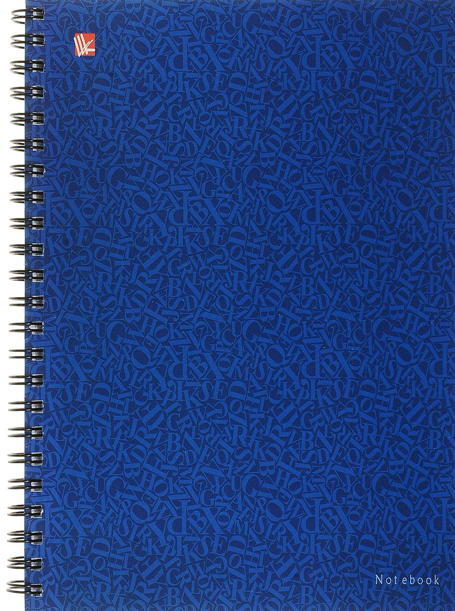 Канц-Эксмо Тетрадь Стиль цвета 96 листов в клетку цвет синийТСЛ964860_синийКанц-Эксмо Тетрадь Стиль цвета 96 листов в клетку цвет синий
