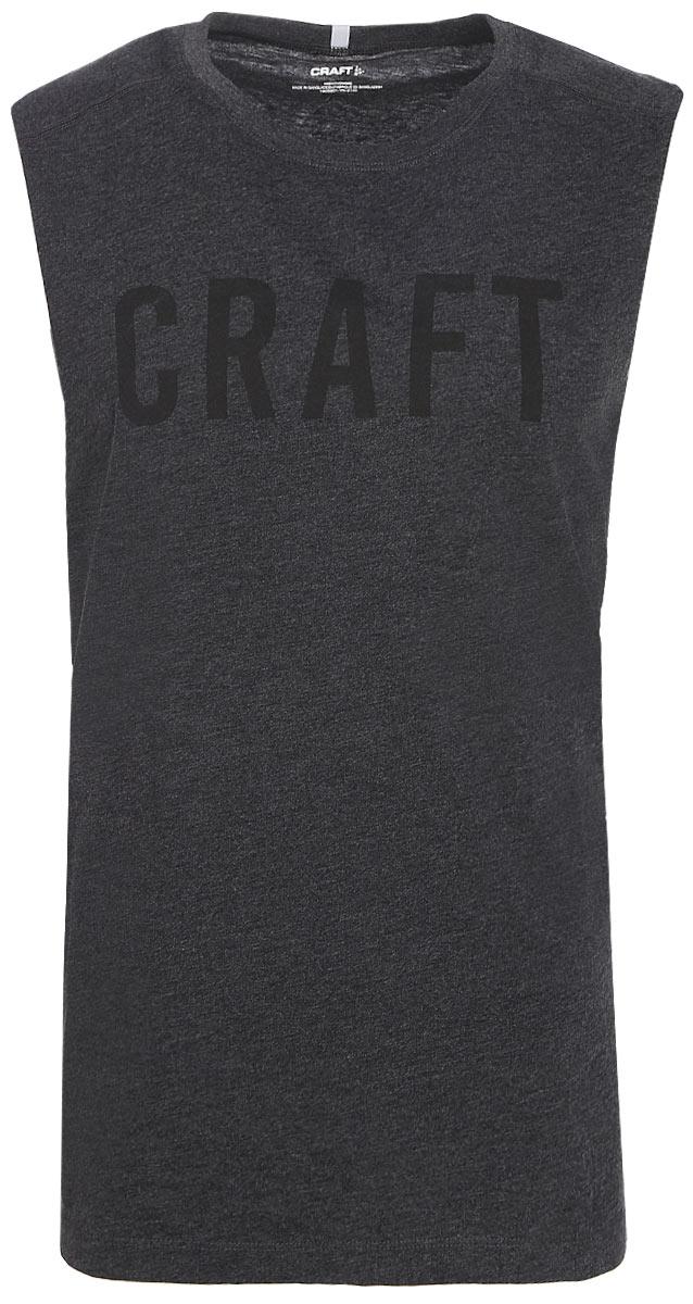 Майка мужская Craft Deft 2.0, цвет: серый. 1905901/998200. Размер XL (52)