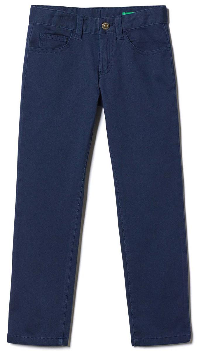 Брюки для мальчиков United Colors of Benetton, цвет: синий. 4TV157CT0_13C. Размер 1304TV157CT0_13C