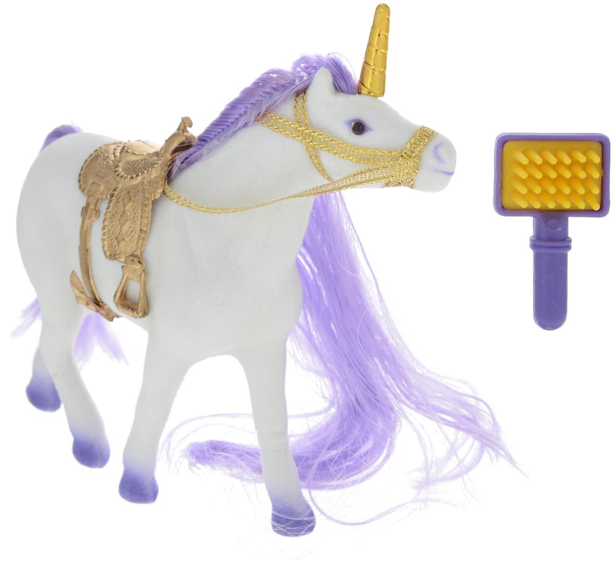 Играем вместе Фигурка Единорог цвет белый фиолетовый 3351R