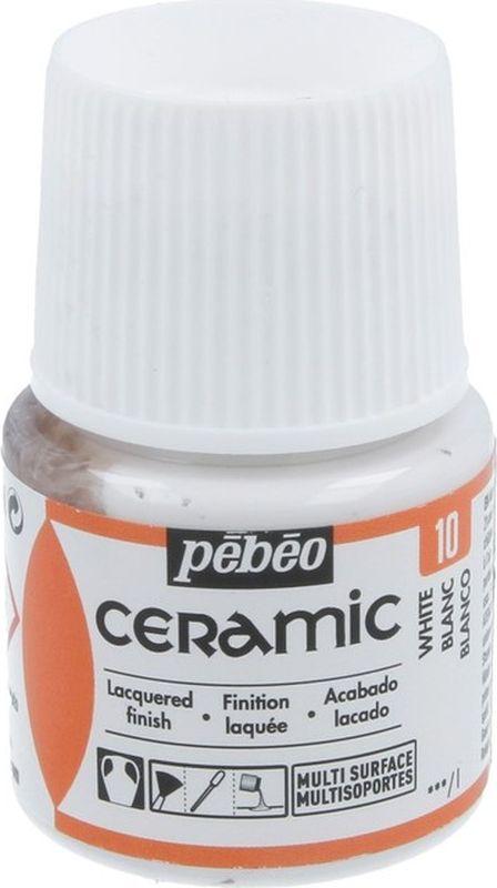 Pebeo Краска по керамике и металлу Ceramic цвет 025-010 белый 45 мл025-010Краски Ceramic на основе органического растворителя - сольвента Можно наносить на глиняные изделия, дерево и даже холст Имеют очень высокую светостойкость Краски смешиваются друг с другом Для сохранения блеска краскинеобходимо предварительно нанести грунт для пористыхповерхностей Чтобы избежать потеков при нанесении краски на выпуклые поверхности не оставляйте многокраски на кистиПрименение: Краски Ceramic наносятся кистью, губкой, через трафарет, подходят для техникимарморирования… Краски Ceramic можно сочетать с фактурными красками Fantasy Moon для создания эффекта мраморной поверхности Высыхание: 2 часа поверхностное, 10 часов полное Время высыхания может меняться в зависимости: от толщины нанесенного слоя, от температуры и влажности рабочего помещенияРазбавление-очистка: Растворитель без запаха или уайт-спиритУважаемые клиенты! Обращаем ваше внимание на то, что упаковка может иметь нескольковидов дизайна.Поставка осуществляется в зависимости от наличия на складе.