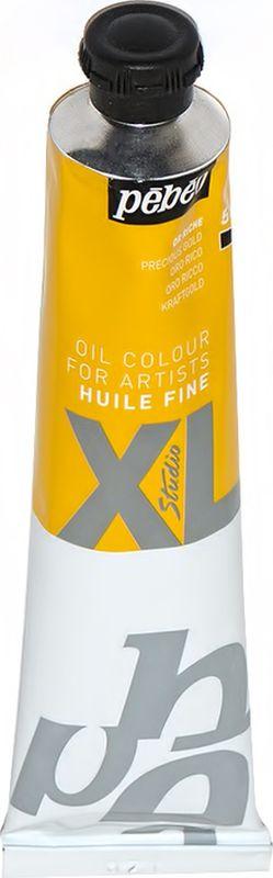 Pebeo Краска масляная XL Металлик цвет богатое золото 80 мл