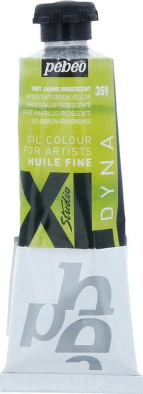 Pebeo Краска масляная XL Dyna цвет 937359 зелено-желтый 37 мл937359Современная тонко тертая масляная краска Имеет глубокий оттенок и пастозную консистенцию Высыхает в течение 3-6 дней Высокая термо- и светостойкость Поверхности: холст, правильно подготовленные картон, дерево, ДВП или ДСП Подходят для любых техник, для лессировок и для пастозной живописи Все краски смешиваются друг с другом Покрытие лаком через 6-9 месяцев Разбавление: разбавители, масла или медиумы в зависимости от искомого результата Очистка инструментов: нефтяное масло
