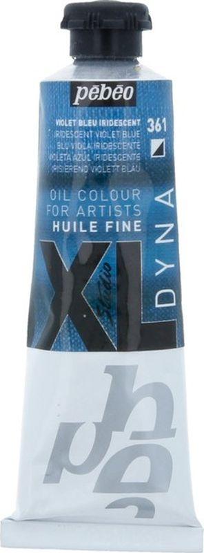 Pebeo Краска масляная XL Dyna цвет 937361 сине-фиолетовый 37 мл937361Современная тонко тертая масляная краска Имеет глубокий оттенок и пастозную консистенцию Высыхает в течение 3-6 дней Высокая термо и светостойкость Поверхности: холст, правильно подготовленные картон, дерево, ДВП или ДСП Подходят для любых техник, для лессировок и для пастозной живописи Все краски смешиваются друг с другом Покрытие лаком через 6-9 месяцев Разбавление: разбавители, масла или медиумы в зависимости от искомого результата Очистка инструментов: нефтяное масло