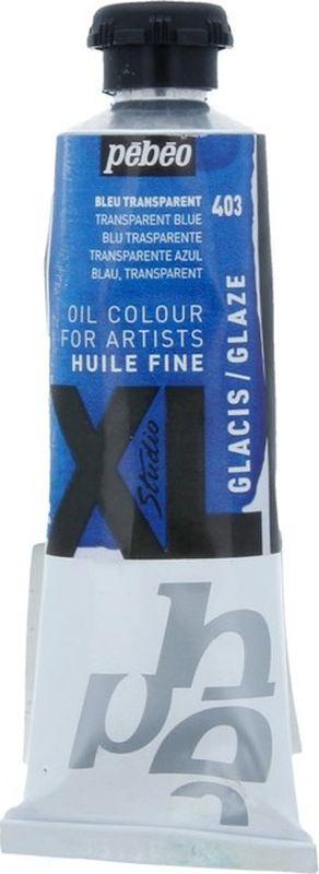 Pebeo Краска масляная XL Glaze цвет 937403 синий 37 мл937403Современная тонко тертая масляная краска Имеет глубокий оттенок и пастозную консистенцию Высыхает в течение 3-6 дней Высокая термо и светостойкость Поверхности: холст, правильно подготовленные картон, дерево, ДВП или ДСП Подходят для любых техник, для лессировок и для пастозной живописи Все краски смешиваются друг с другом Покрытие лаком через 6-9 месяцев Разбавление: разбавители, масла или медиумы в зависимости от искомого результата Очистка инструментов: нефтяное масло