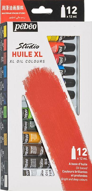 Pebeo Краска масляная набор XL 12 цветов 668100 12 мл668100Современная тонко тертая масляная краска Имеет глубокий оттенок и пастозную консистенцию Высыхает в течение 3-6 дней Высокая термо и светостойкость Подходят для любых техник, для лессировок и для пастозной живописи Все краски смешиваются друг с другом Покрытие лаком через 6-9 месяцев Поверхности: холст, правильно подготовленные картон, дерево, ДВП или ДСПРазбавление: разбавители, масла или медиумы в зависимости от искомого результата Очистка инструментов: нефтяное масло