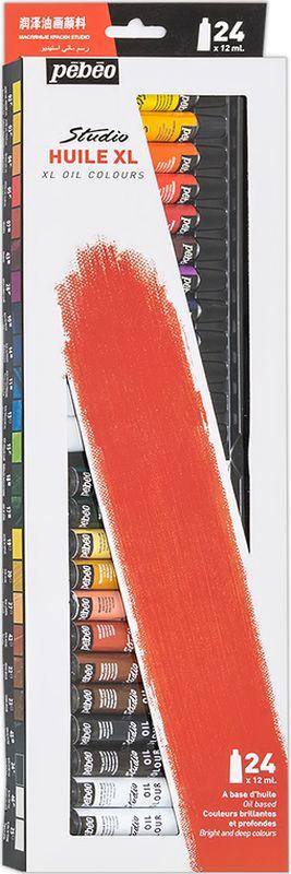 Pebeo Краска масляная Набор XL 24 цвета x 12 мл668121В набор входит: 24 цвета по 12 мл. Современная тонко тертая масляная краска:-Имеет глубокий оттенок и пастозную консистенцию.-Высыхает в течение 3-6 дней.-Высокая термо- и светостойкость.-Подходят для любых техник, для лессировок и для пастозной живописи.-Все краски смешиваются друг с другом.-Покрытие лаком через 6-9 месяцев. Поверхности: холст, правильно подготовленные картон, дерево, ДВП или ДСП.Разбавление: разбавители, масла или медиумы в зависимости от искомого результата.Очистка инструментов: нефтяное масло.