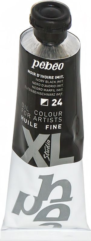 Pebeo Краска масляная XL цвет черная слоновая кость 37 мл