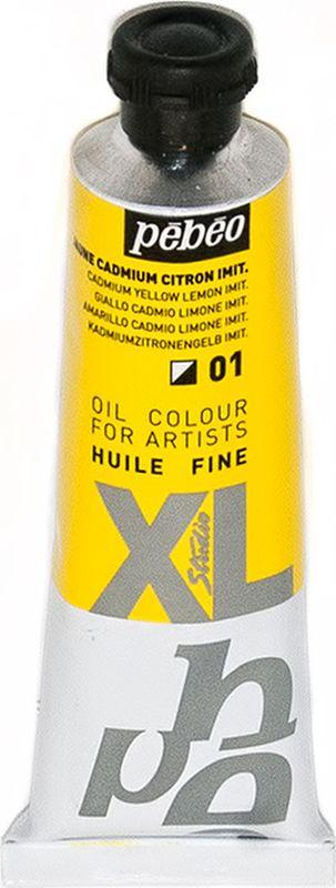 Pebeo Краска масляная XL цвет кадмий лимонный 37 мл