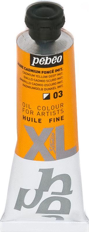Pebeo Краска масляная XL цвет 937003 кадмий темно-желтый 37 мл937003Современная тонко тертая масляная краска, туба 37 мл Имеет глубокий оттенок и пастозную консистенцию Высыхает в течение 3-6 дней Высокая термо и светостойкость Поверхности: холст, правильно подготовленные картон, дерево, ДВП или ДСП Подходят для любых техник, для лессировок и для пастозной живописи Все краски смешиваются друг с другом Покрытие лаком через 6-9 месяцев Разбавление: разбавители, масла или медиумы в зависимости от искомого результата Очистка инструментов: нефтяное масло