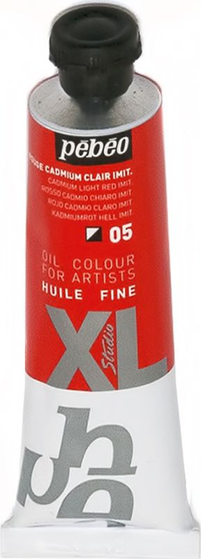 Pebeo Краска масляная XL цвет кадмий светло-красный 37 мл937005Современная тонко тертая масляная краска, имеет глубокий оттенок и пастозную консистенцию. Высыхает в течение 3-6 дней. Обладает высокой термо и светостойкостью.Поверхности: холст, правильно подготовленные картон, дерево, ДВП или ДСП. Подходят для любых техник, для лессировок и для пастозной живописи.Все краски смешиваются друг с другом. Покрытие лаком через 6-9 месяцев.Разбавление: разбавители, масла или медиумы в зависимости от искомого результата.Очистка инструментов: нефтяное масло.