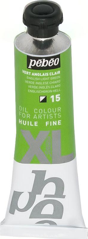 Pebeo Краска масляная XL цвет зеленый английский 37 мл