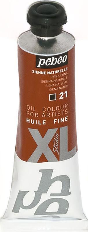 Pebeo Краска масляная XL цвет сиена натуральная 37 мл