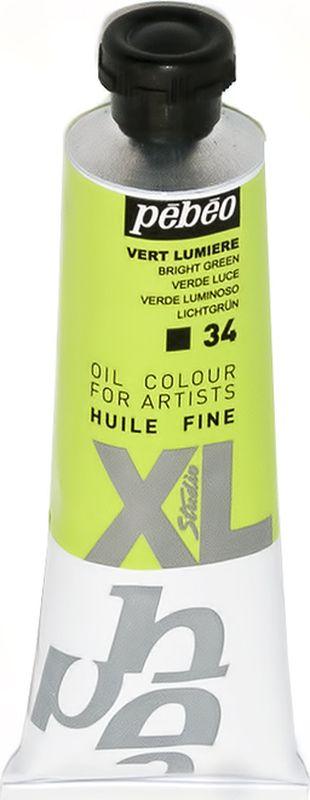 Pebeo Краска масляная XL цвет 937034 зеленый светлый 37 мл937034Современная тонко тертая масляная краска, туба 37 мл Имеет глубокий оттенок и пастозную консистенцию Высыхает в течение 3-6 дней Высокая термо и светостойкость Поверхности: холст, правильно подготовленные картон, дерево, ДВП или ДСП Подходят для любых техник, для лессировок и для пастозной живописи Все краски смешиваются друг с другом Покрытие лаком через 6-9 месяцев Разбавление: разбавители, масла или медиумы в зависимости от искомого результата Очистка инструментов: нефтяное масло