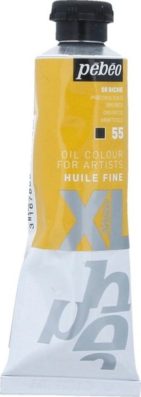 Pebeo Краска масляная XL Металлик цвет богатое золото 37 мл