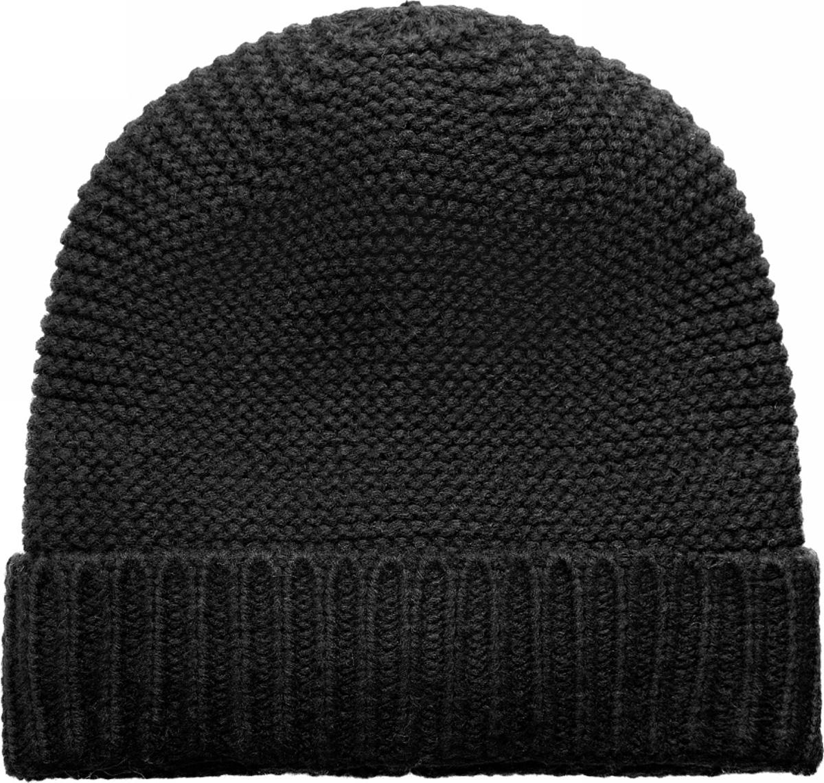Шапка женская oodji, цвет: черный. 47602062-1/18941/2900N. Размер XS/L (55/58)47602062-1/18941/2900NСтильная теплая вязаная шапка от oodji с отворотом. Отворот с вязкой в плотную резинку хорошо держит форму, сама шапка связана изнаночной гладью. Теплый и мягкий акрил обладает прекрасными характеристиками - хорошо греет, не садится после стирки. В этой шапке вам будет тепло даже в прохладную погоду.