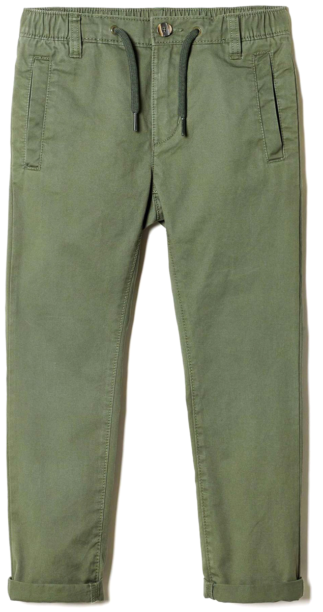 Брюки для мальчика United Colors of Benetton, цвет: зеленый. 4WE5557Z0_12G. Размер 1604WE5557Z0_12GСтильные брюки идеально подойдут вашему ребенку для отдыха и прогулок. Изготовленные из качественного материала, они необычайно мягкие и приятные на ощупь, не сковывают движения и позволяют коже дышать, не раздражают даже самую нежную и чувствительную кожу ребенка, обеспечивая ему наибольший комфорт. Брюки на талии застегиваются на пуговицу и имеют ширинку на застежке-молнии, имеются шлевки для ремня.