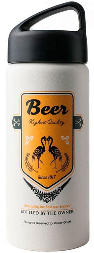 Фляга-термос Laken Classic Mr. Onuff. Beer, 500 млONTA502Фляга-термос отлично подойдет для походов и путешествий.Сохраняет напитки теплыми до 8 часов.Сохраняет напитки охлажденными до 24 часов (рекомендуется добавлять кубики льда).Изготовлена из пищевой 18/8 нержавеющей стали, не требующей нанесения специального покрытия.100% нержавеющая внутренняя поверхность.Высококачественная вакуумная изоляция.Не запотевает, благодаря изоляции, и не образует конденсата на внешней поверхности.Не обжигает рукиНе содержит БФА, эфир фталевой кислоты, свинец и другие вредные для здоровья человека вещества.Сохраняет запах и вкус напитка без примеси металла.Плотная крышка, исключающая протекание даже газированных напитков.Нетоксичное напыление.Подходит для использования с алкоголем и цитрусовыми.Не подходит для использования в посудомоечной машине.Не использовать в микроволновой печи.Не замораживать.
