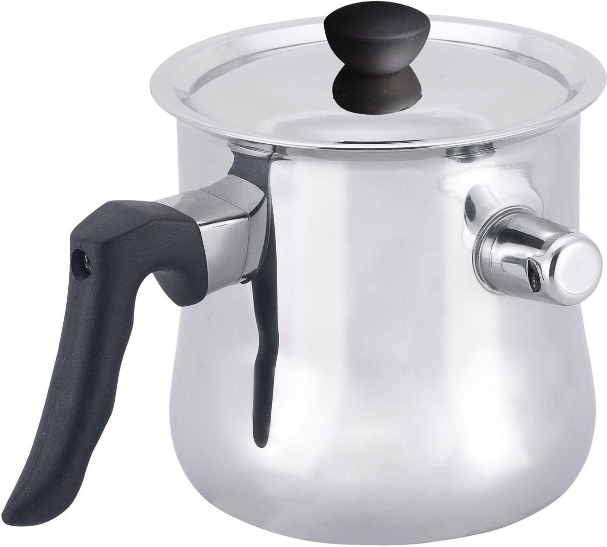 Молочник с крышкой Mercury. MC-6350MC - 6350Молочник с крышкой, материал: нержавеющая сталь