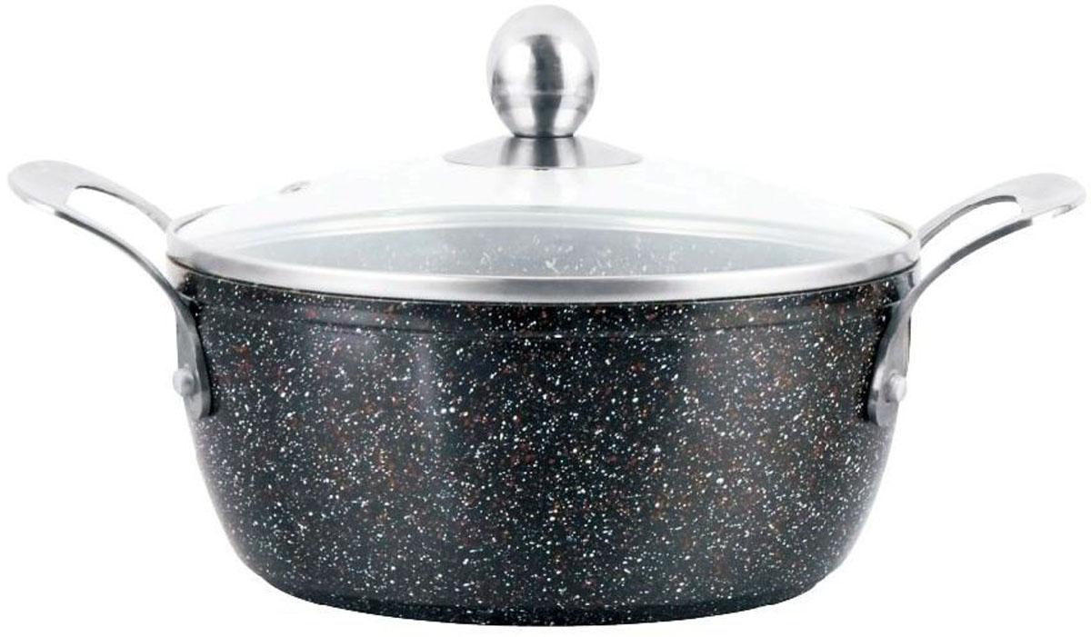 Кастрюля Mercury, с антипригарным покрытием non-stick под мрамор, 2,8 лMC-6233Материал: алюминий.Объем: 2,8 л.Диаметр: 20 см.Мраморное антипригарное покрытие. Эргономичные ручки. Индукционное дно. Можно мыть в посудомоечной машине. Подходит для всех видов плит.