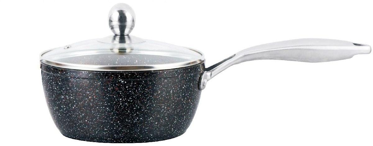 Сотейник  Mercury , с антипригарным покрытием non-stick под мрамор, 2,8 л. MC-6237 - Посуда для приготовления