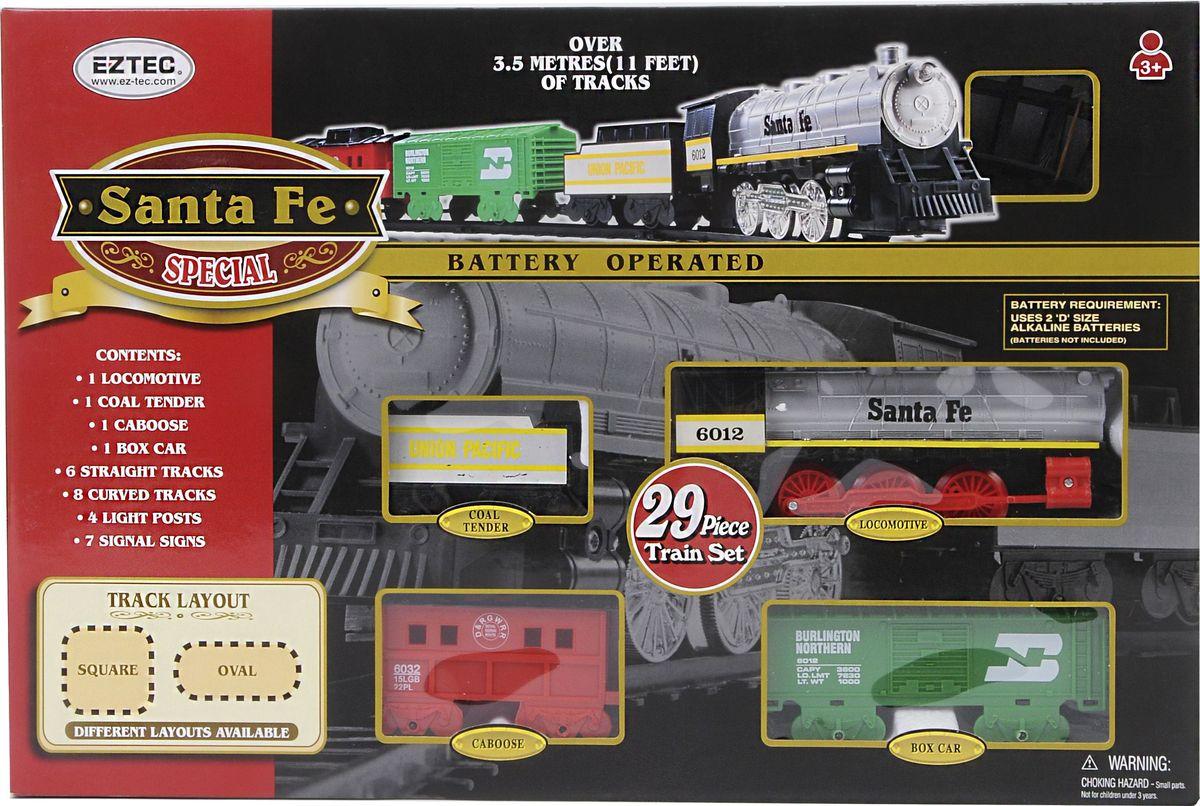 EZTEC Железная дорога Santa Fe Special Train Set  (29 Частей)