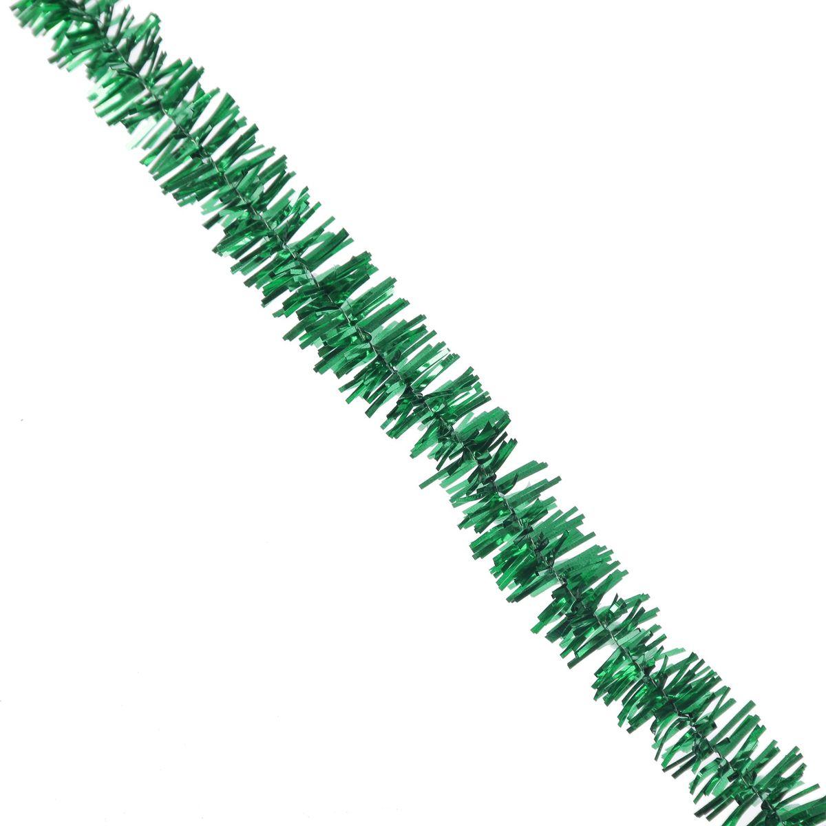 Мишура новогодняя Sima-land, цвет: золотистый, зеленый, диаметр 1,5 см, длина 127 см. 701303701303_золотистый, зеленыйМишура новогодняя Sima-land, выполненная из фольги, поможет вам украсить свой дом к предстоящим праздникам. Мишура армирована, то есть имеет проволоку внутри и способна сохранять приданную ей форму. Новогодняя елка с таким украшением станет еще наряднее. Новогодней мишурой можно украсить все, что угодно - елку, квартиру, дачу, офис - как внутри, так и снаружи. Можно сложить новогодние поздравления, буквы и цифры, мишурой можно украсить и дополнить гирлянды, можно выделить дверные колонны, оплести дверные проемы.