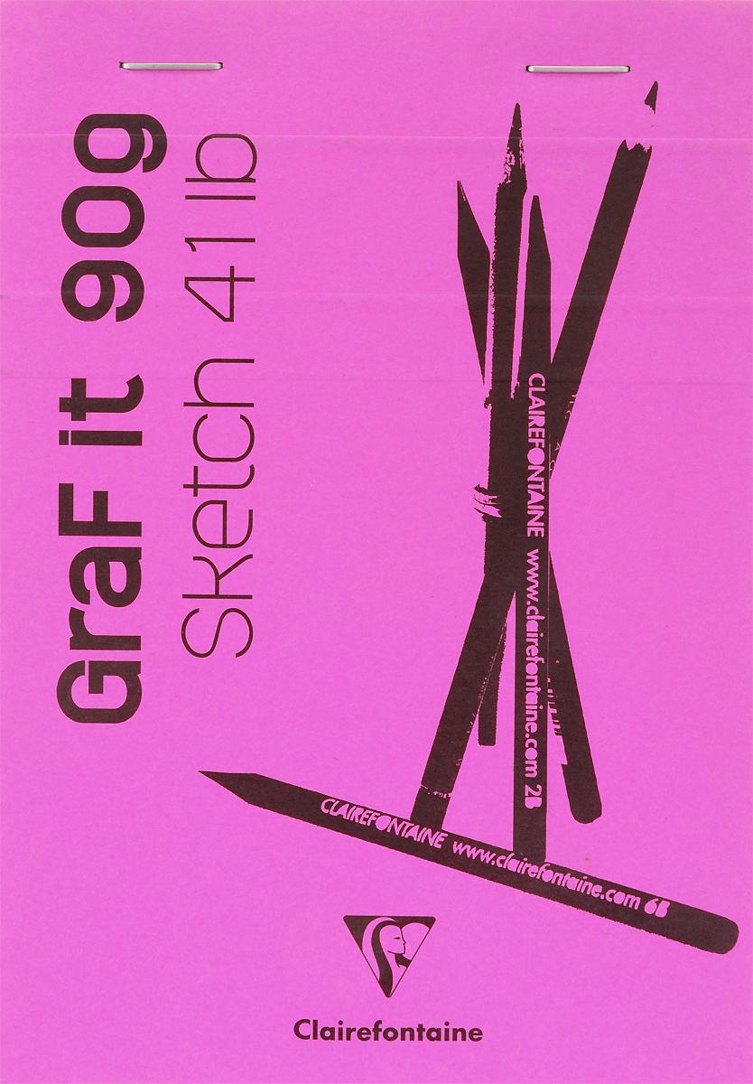 Блокнот Clairefontaine Graf It, для сухих техник, с перфорацией, цвет: розовый, формат A6, 80 листов96668СОригинальный блокнот Clairefontaine идеально подойдет для памятных записей, любимых стихов, рисунков и многого другого. Плотная обложкапредохраняет листы от порчи изамятия. Такой блокнот станет забавным и практичным подарком - он не затеряется среди бумаг, и долгое время будет вызывать улыбку окружающих.
