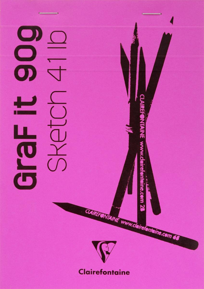 Блокнот Clairefontaine Graf It, для сухих техник, с перфорацией, цвет: розовый, формат A5, 80 листов96671СОригинальный блокнот Clairefontaine Graf It идеально подойдет для памятных записей, любимых стихов, рисунков и многого другого. Плотная обложка предохраняет листы от порчи и замятия. Блокнот формата А5 содержит 80 листов, чего хватит на долгое время.Такой блокнот станет забавным и практичным подарком - он не затеряется среди бумаг, и долгое время будет вызывать улыбку окружающих.