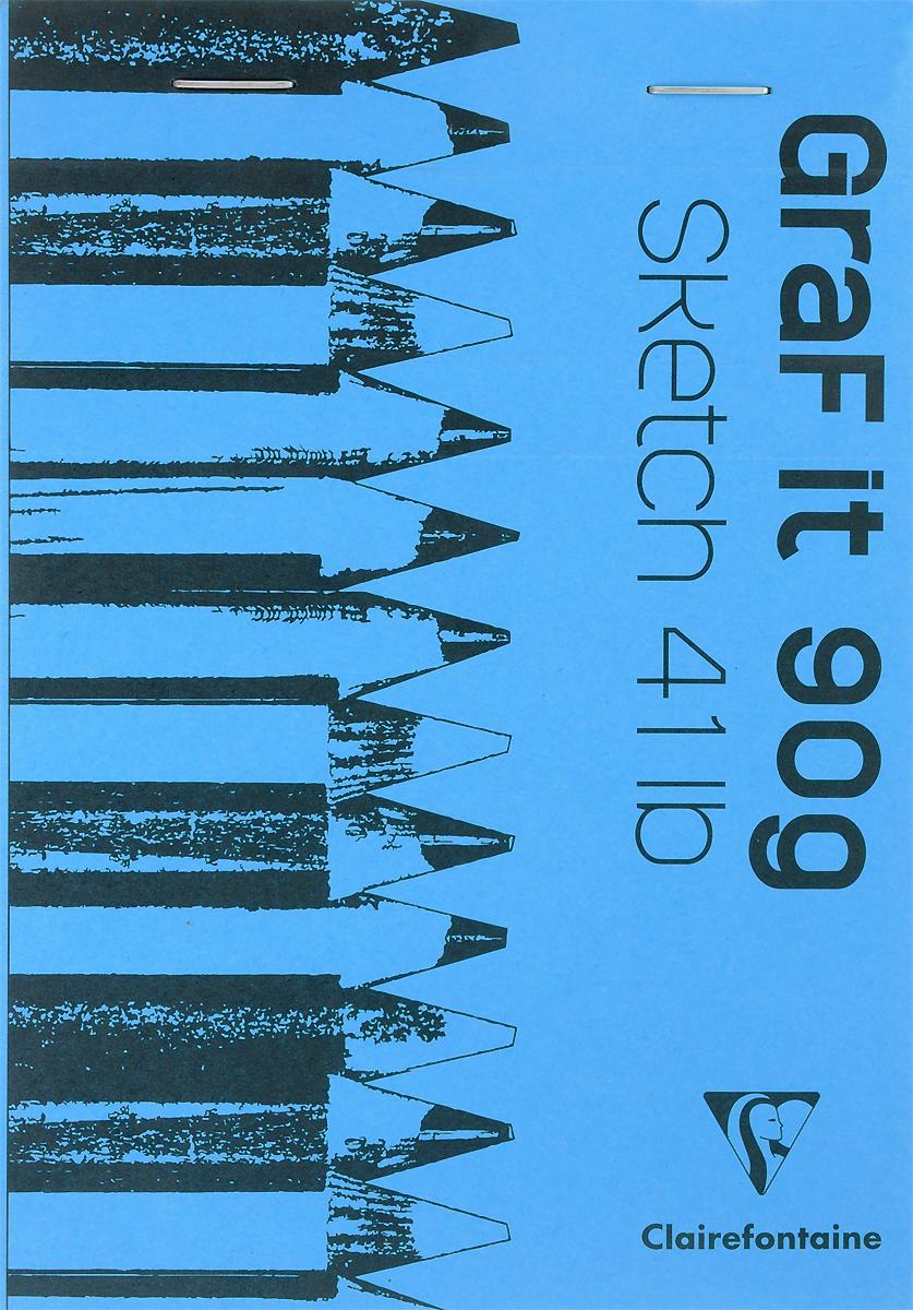 Блокнот Clairefontaine Graf It, для сухих техник, с перфорацией, цвет: голубой, формат A6, 80 листов. 96669C96669СОригинальный блокнот Clairefontaine идеально подойдет для памятных записей, любимых стихов, рисунков и многого другого. Плотная обложкапредохраняет листы от порчи изамятия. Такой блокнот станет забавным и практичным подарком - он не затеряется среди бумаг, и долгое время будет вызывать улыбку окружающих.