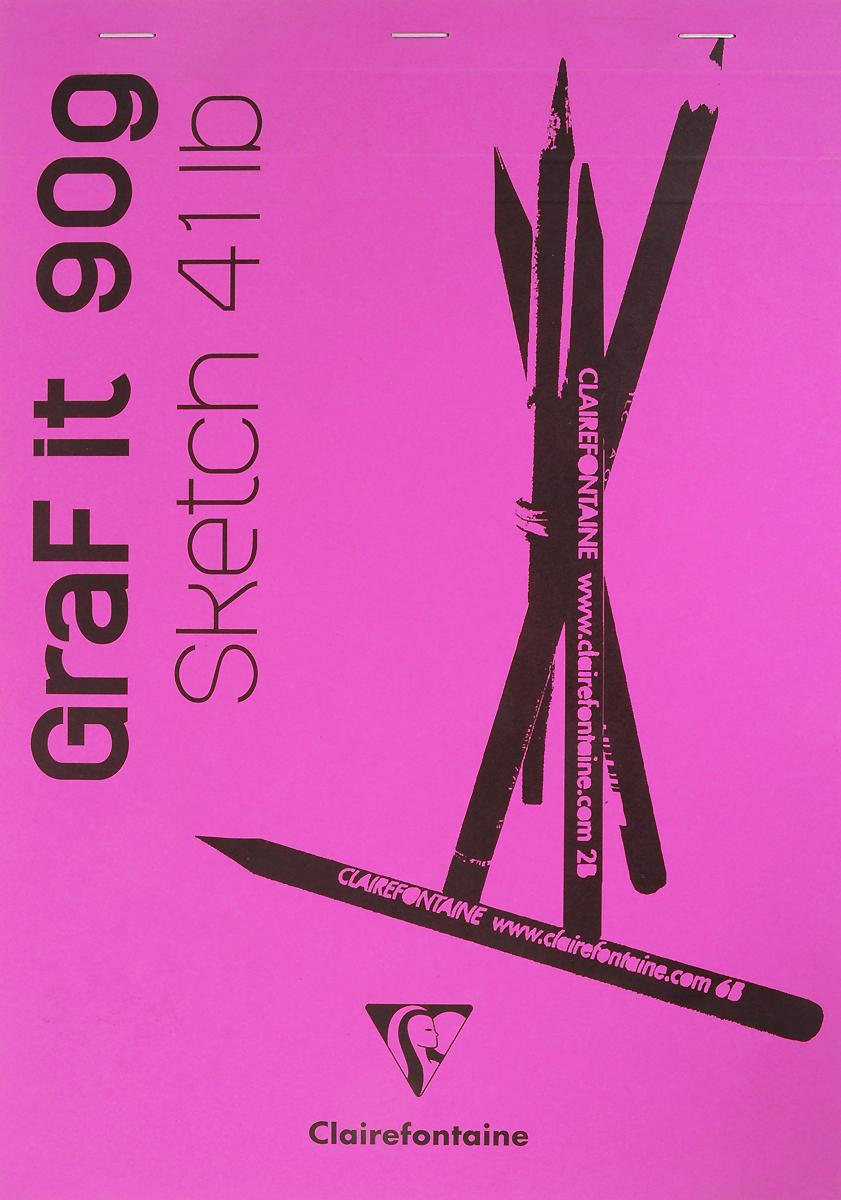 Блокнот Clairefontaine Graf It, для сухих техник, с перфорацией, цвет: розовый, формат A4, 80 листов. 96680С96680СОригинальный блокнот Clairefontaine идеально подойдет для памятных записей, любимых стихов, рисунков и многого другого. Плотная обложка предохраняет листы от порчи изамятия. Такой блокнот станет забавным и практичным подарком - он не затеряется среди бумаг, и долгое время будет вызывать улыбку окружающих.