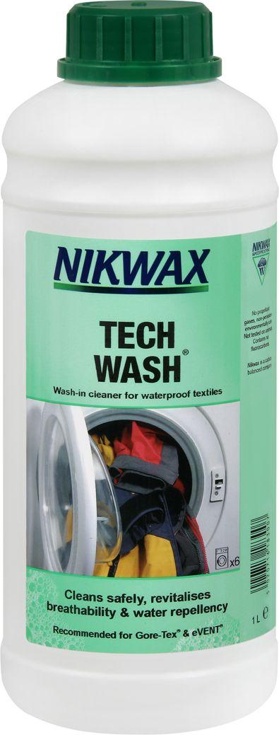 Средство для стирки NikWax Loft Tech Wash, 1 л22616Для стирки любого типа одежды, кроме пуха, от флиса, изделий из материалов Gore-tex, Sympatex, Ultrex, Entrant, дышащих нейлоновых тканей, брезента, хлопка до утепленных изделий используйте Nikwax Tech Wash.Nikwax Tech Wash - не являющееся моющим средством, разлагаемое микроорганизмами жидкое мыло, которое удаляет грязь и остатки моющих средств и, в то же время, не повреждает водоотталкивающее покрытие Перед повторным приданием водонепроницаемости всю одежду необходимо предварительно чистить с помощью Nikwax Tech Wash (также можно использовать неразведенным для удалениянеподатливых загрязнений)