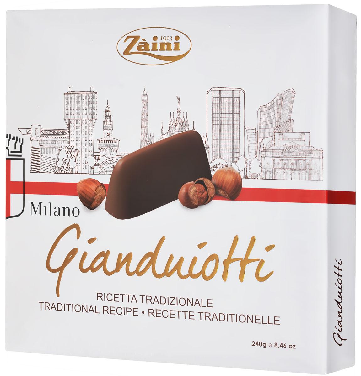 Zaini Milano Gianduiotti Gift Box набор шоколадных конфет, 240 г imaqliq g box купить