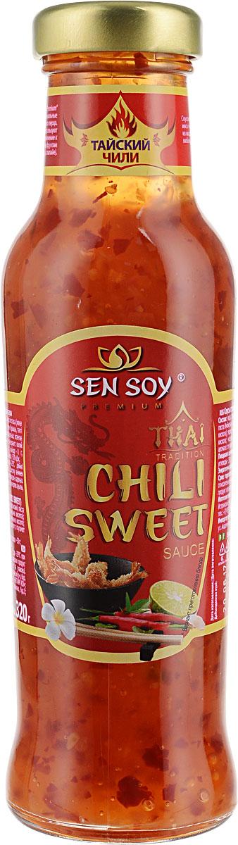 В соусе Чили Свит Сэн Сой Премиум идеально сбалансированы экстремальные вкусы – сладкий и жгуче-острый. Искусные тайские повара сочетают такой соус с морепродуктами, птицей и даже фруктами (например, с папайей). Соус Чили Свит подойдет даже к самому простому блюду. Обычно такой соус подают к столу в специальной соуснице и обмакивают в него кусочки кушанья.