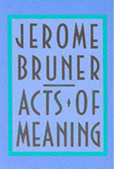 Acts of Meaning (Paper) acts of mercy